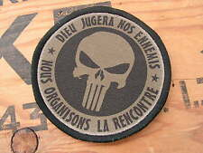 SNAKE PATCH - PUNISHER dieu jugera nos ennemis - Mercenaire US OD BV mdl 2016