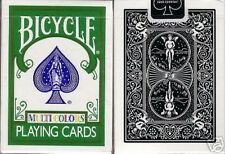OHIO MADE Machiavelli Bicycle 808 MULTI COLORS Fragment X Playing Cards Deck!
