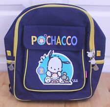 Vintage 1996 Sanrio Pochacco Blue Backpack School Bag