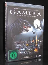 BLU-RAY + DVD GAMERA 2 - ATTACK OF THE LEGION  LIMITED SPECIAL EDITION MEDIABOOK