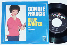 "CONNIE FRANCIS -Blue Winter- 7"" 45"