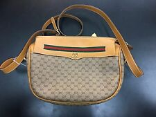 Gucci White Leather Cross Body Shoulder Bag