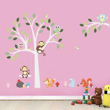 Wandtattoo Wandsticker Tiere Baum Wandbild Affe  Wandaufkleber Wand Deko XXL