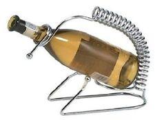 Titular de la botella de vino de cromo mejorar su mesa. con este vino Soporte De Metal