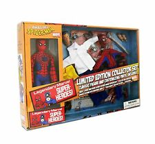 "Marvel Superheroes Spider-Man 8"" Retro Mego Style Figure Collector Set In Stock"