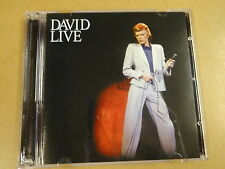 CD / DAVID BOWIE -  LIVE