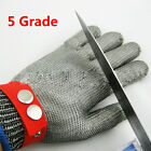 Cut Proof Stab Resistant Stainless Steel Wire Metal Mesh Butcher's Safety Gloves