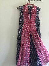 "DVF   Nieves silk chiffon dress ""12"" new with  tags!!!"