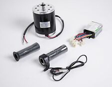 500 W 24 V DC electric 1020 motor kit w base speed control & Throttle f scooter