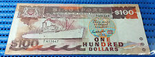 Singapore Ship Series $100 Note A/1 411647 GKS Dollar Banknote Currency