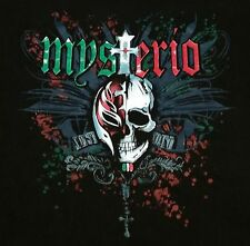 Pre-Owned Rey Mysterio 619 Skull WWF WWE WCW Mexican Men's Medium Shirt