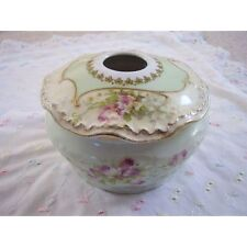 Limoges France porcelain , vase-bowl with cover-trinket box