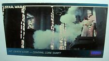 Star Wars 1994 TOPPS Wide Vision Card #73 Death Star Trapped Central Core Shaft