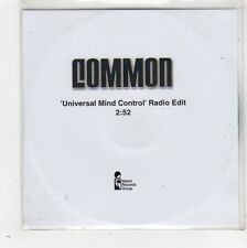 (FW640) Common, Universal Mind Control - DJ CD
