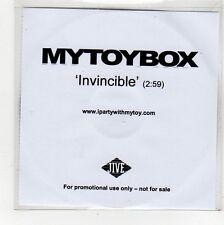 (FU944) My Toy Box, Invincible - DJ CD