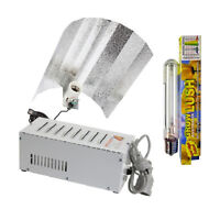 600w Grow Light Kit Grow Lush Dual Spectrum Lamp Metal Ballast Euro Reflector