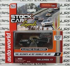 Auto World Stock Car Legends Rel 17 PAUL GOLDSMITH 1957 CHEVY BEL-AIR Slot Car