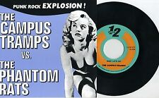"Phantom Rats / Campus Tramps - Split 7"" JAPAN Fifi And The Mach III Supersnazz"