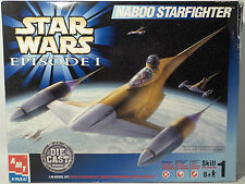 STAR WARS : THE PHANTOM MENACE : NABOO STARFIGHTER MODEL KIT MADE BY AMT (MI)