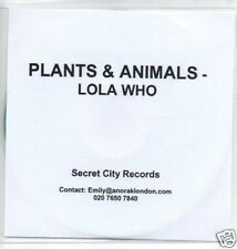 (392O) Plants & Animals, Lola Who - DJ CD