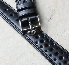 Heuer Monaco original 22mm vintage strap 1960s/70s NOS with Heuer buckle 4 sold