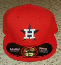 New Era - 59Fifty Houston Astros Home - Men's Fitted Baseball Cap - Size 7-1/2