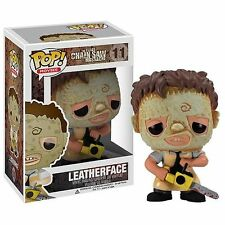Texas MOTOSEGA massacro Leatherface POP! VINYL Figure-Nuovo In Magazzino