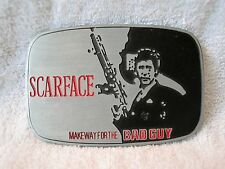 SCARFACE - MAKEWAY FOR THE BAD GUY - BELT BUCKLE - GREAT GIFT ITEM!