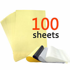 "New 100 Sheets Tattoo Carbon Thermal Stencil Body Transfer Paper 8.5"" x 11"""