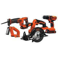 Black & Decker BD4KITCDCRL 20V MAX Drill/Driver Circular and Reciprocatin... New