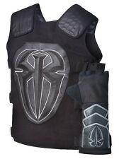 Roman Reigns Tactical Replica Vest Superman Punch Glove Costume-Black