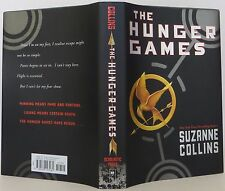 "SUZANNE COLLINS ""The Hunger Games"" SIGNED FIRST EDITION"