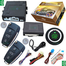 Remote Keyless Entry&Push Button Start Stop System RFID Immobilizer Anti-Theft
