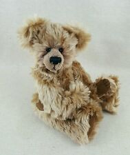 """Mohair Handmade Bear Unknown Artist ~ 16"""" Jointed Stuffed Collectible Teddy"""
