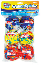 Wahu BMA514 Fun Soak & Splat Water Balls Watersplatz Pack of 6 - Swim Pool Party