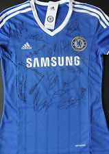CHELSEA FC Multi Signed FOOTBALL SHIRT Terry, Cech, Lampard, Cole, Cahill COA
