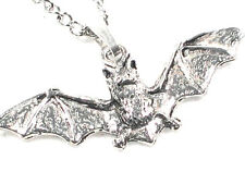 Flying Bat handmade Pewter Pendant