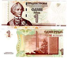 Transnistrie Transnistria Billet 1 ROUBLE 2007 PNL UNC NEUF