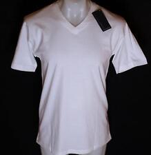 Bnwt Men's Authentic Brooker V Neck T Shirt Small White New