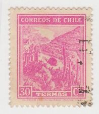 (CH285) 1938 Chile 30c pink mineral spas (E)