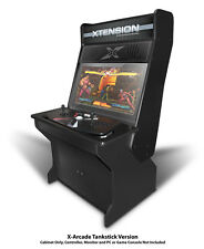 Sit Down Xtension Arcade Cabinet For The X-Arcade Tankstick