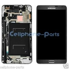 Samsung Galaxy Note 3 III N900A LCD Screen Display + Digitizer Bezel Frame Black