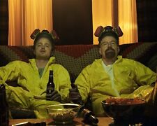 Breaking Bad Giallo Abiti e Birra Scena 10x8 Foto