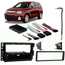 Fits Saturn Vue 2008-2009 Single DIN Stereo Harness Radio Install Dash Kit