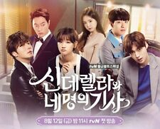 """Cinderella and Four Knights""~Korean-TV-Drama~Excellent English Subs. All Region"
