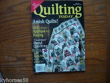 Quilting Today Magazine QT 49 1995