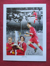 "LIVERPOOL ROBBIE FOWLER- GOD- PERSONALLY HAND SIGNED 12""x16"" MONTAGE-PHOTO- COA"