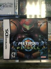 metroid prime pinball DS With Rumble Pack Original Factory Sealed