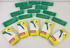 600 x Rizla Green Cigarette Rolling Papers & Swan Extra Slim Filter Tips Combi
