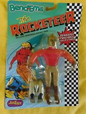 Disney The Rocketeer Bend-Ems (vintage 1980's)-  NIB Mint by JusToys